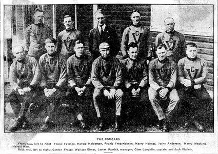 Victoria Cougars team