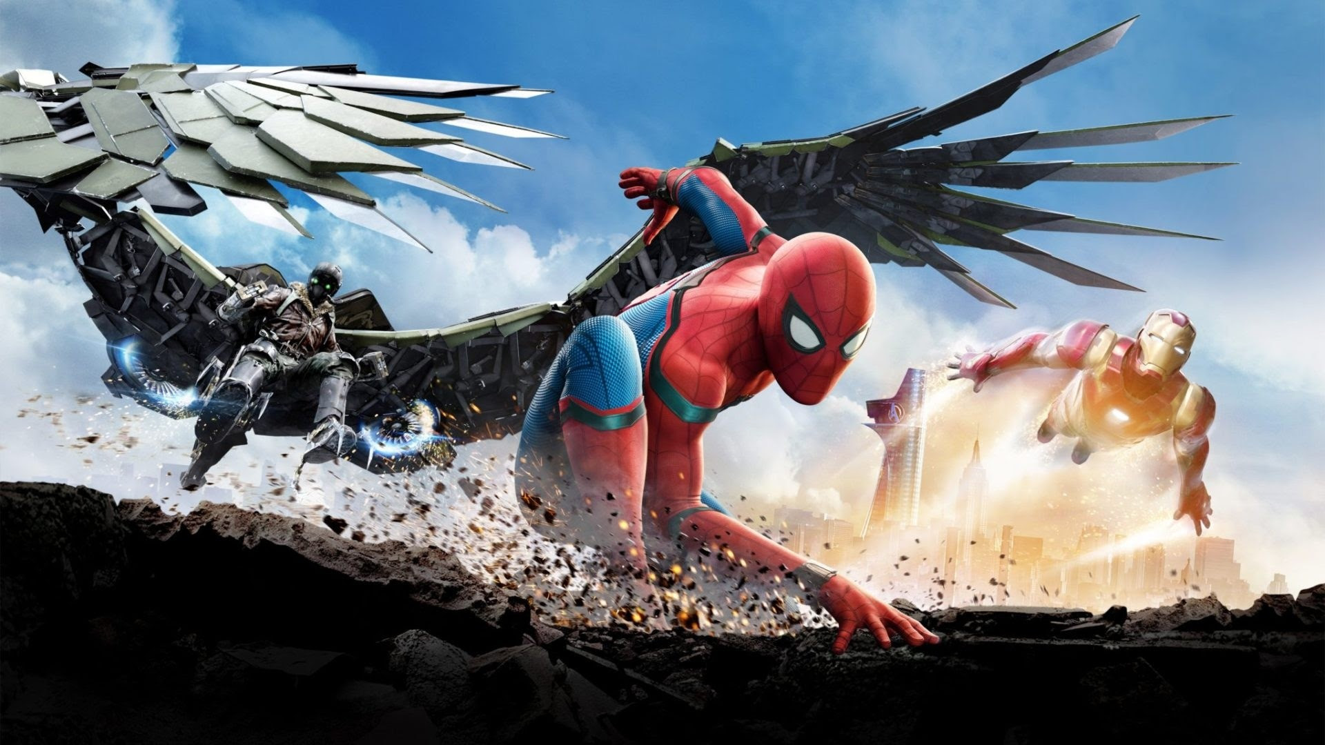 Spider Man Homecoming Wallpapers 64 Background Pictures