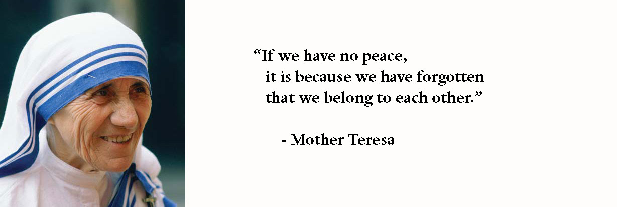 Quotes by Mother Teresa ~ Write Spirit