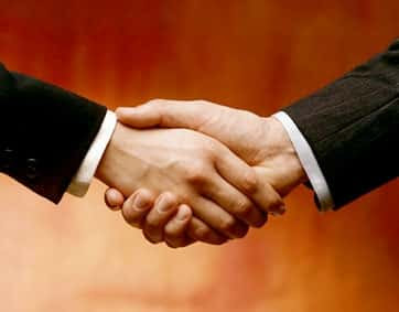 Img - Origem do aperto de mão