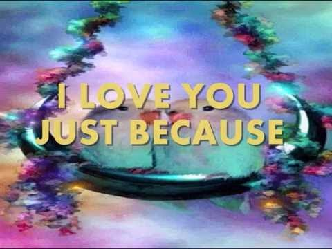I Love You Just Because Anita Baker Lyrics