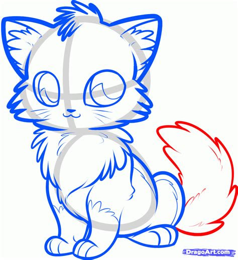 draw  anime fox step  step anime animals