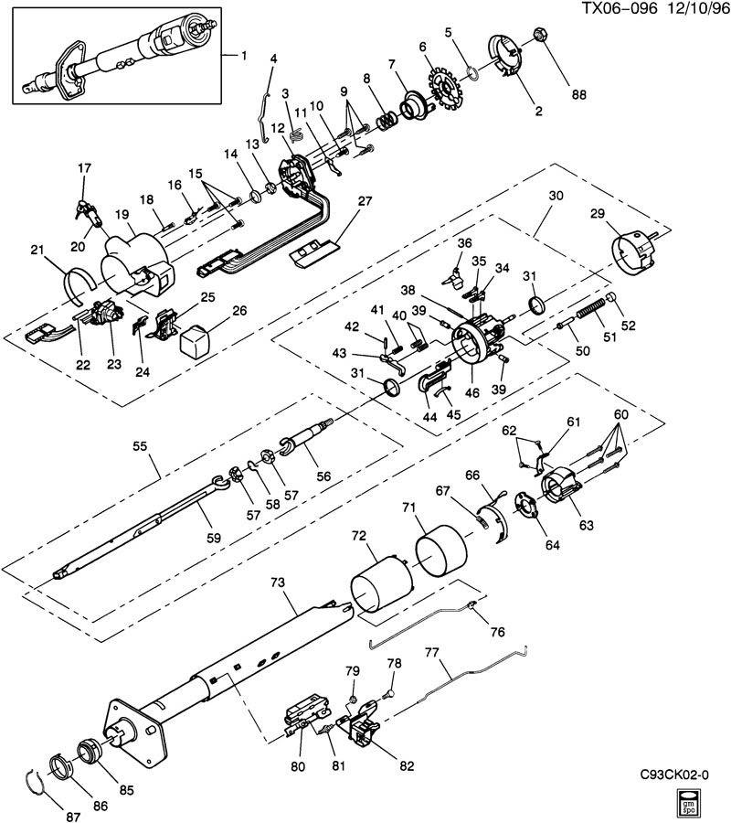 Chevy Steering Column Wiring