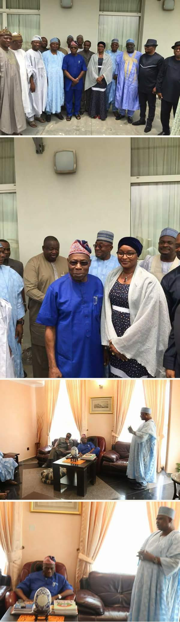 2019: Another PDP Presidential Aspirant Visits Obasanjo For Consultation (Photos)