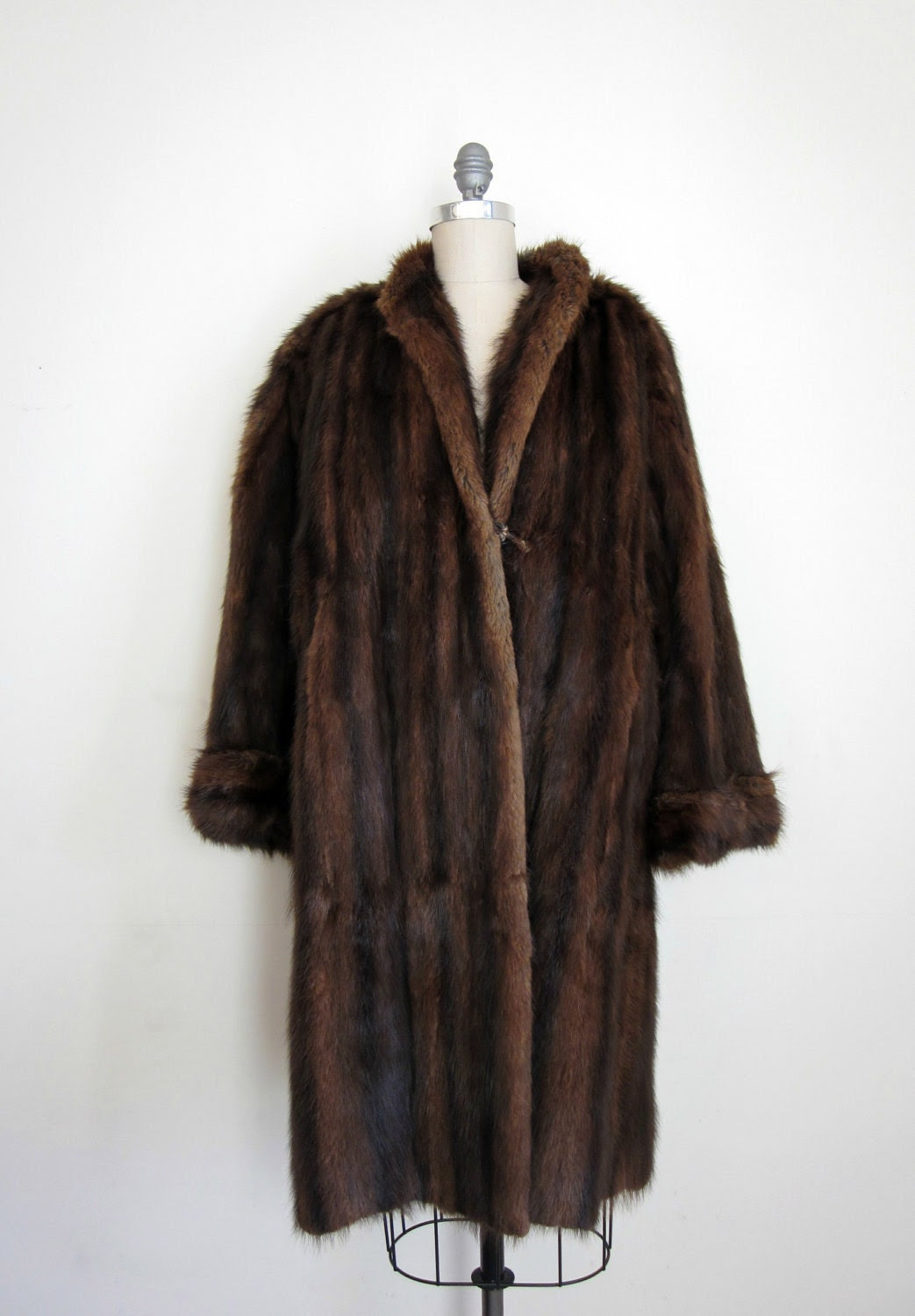 40's kakas furs mink coat long from edward kakas and sons 93 newburry street boston women's