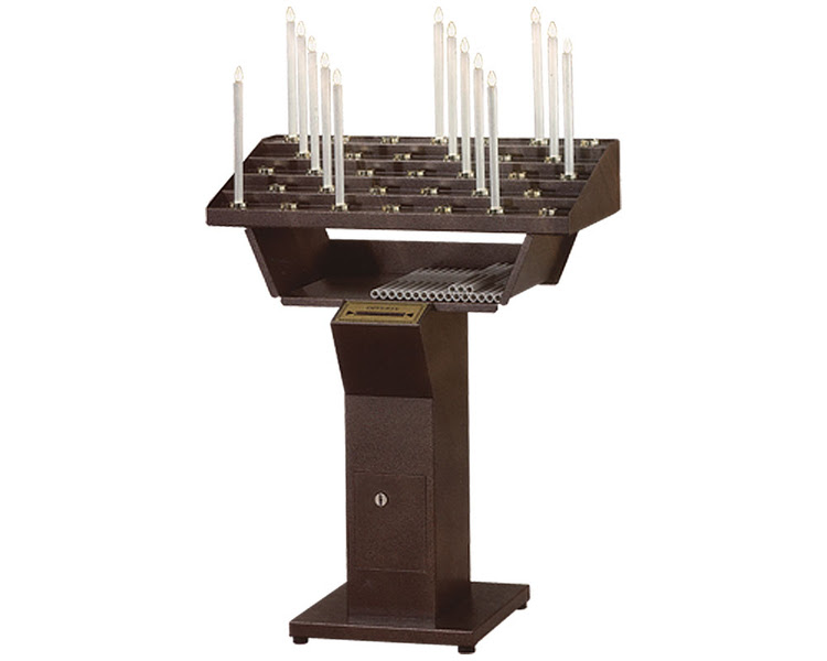 ELECTRIC Votive Candle Stand - Ecclesia Supplies