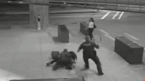 Video of a UBC student beaten and batoned by Vancouver transit cops in 2011. One officer was force to quit, the other pleaded guilty to assault and was suspended for 8 days without pay.