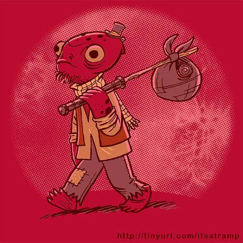 It's a tramp! by Ape Lad