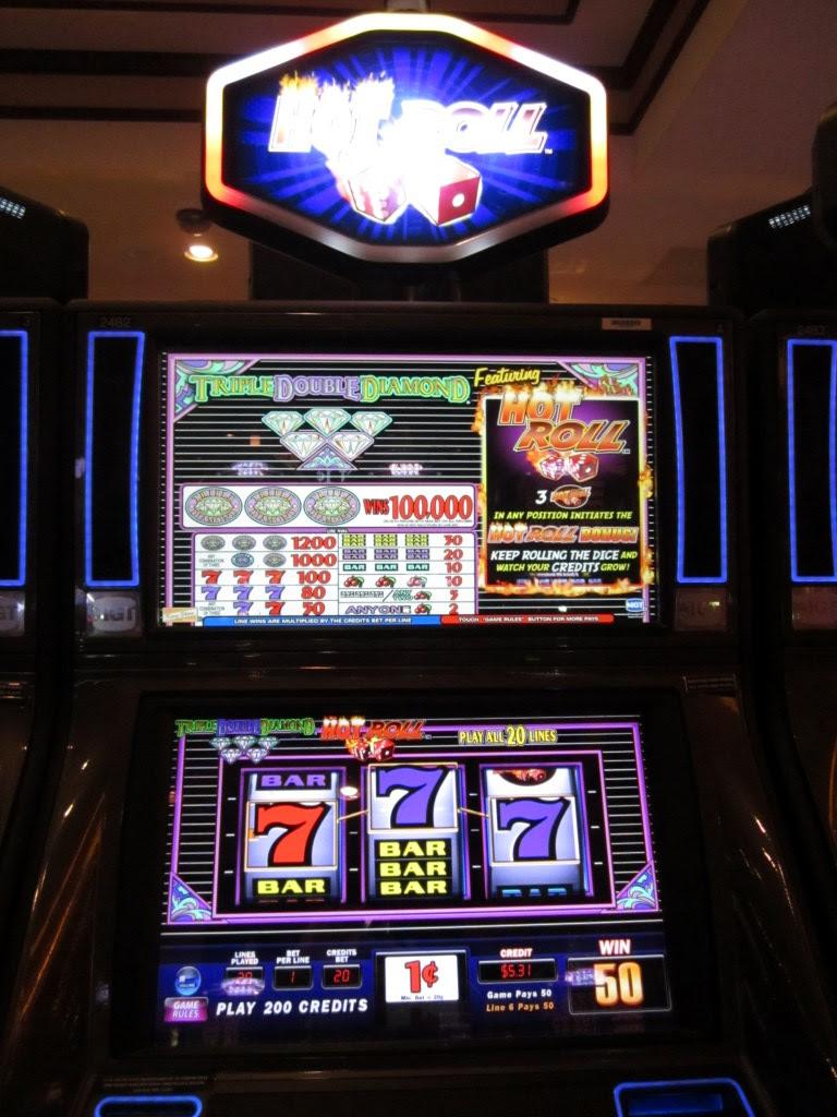 Slot machines odds of winning