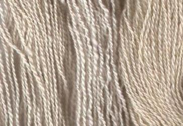 My 3 Shetland white yarns.
