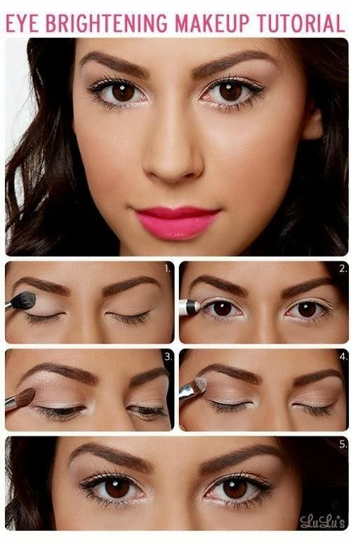 Eye Brightening Make up Tutorial ~ Only Fashion