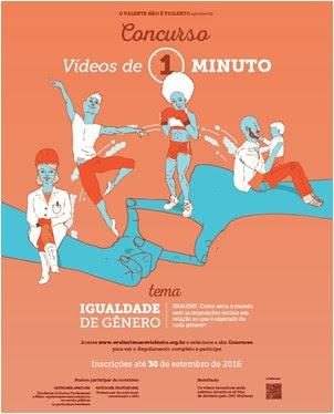 """ONU Brasil lança Concurso de Vídeos de 1 Minuto """"O Valente Não É Violento"""", em defesa da igualdade de gênero, com inscrições até 30/9/"""