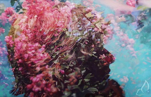 Pakayla Biehn Double Exposure 3 Peintures par Pakayla Biehn : Double Exposition