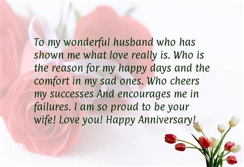 Happy Anniversary To My Husband Quotes   Anniversary