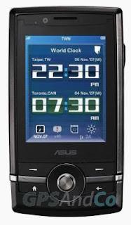 ASUS P560 GPS phone