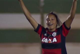 Rio Preto x Flamengo, Rio Preto, Flamengo, feminino (Foto: Reprodução / SporTV)