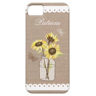 Rustic Sunflowers Case iPhone 5/5S Covers