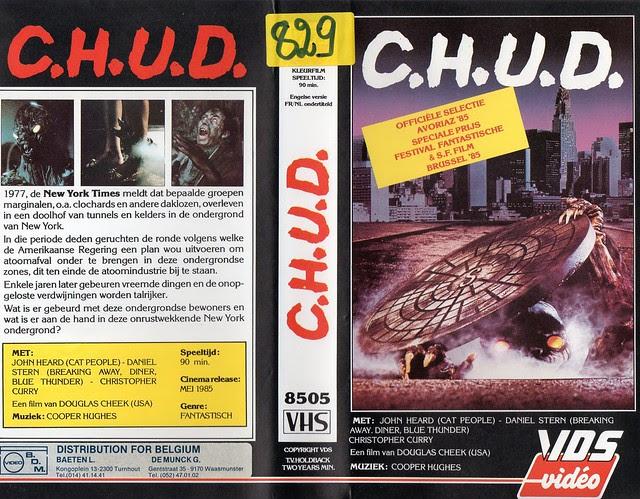 C.H.U.D. (VHS Box Art)
