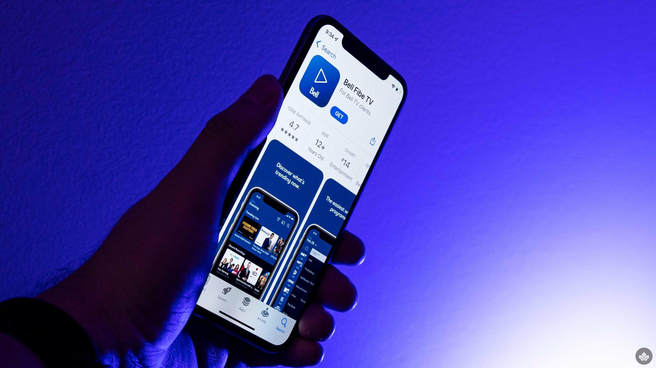 Bell improves rewind, fast-forward controls on Fibe TV iOS app