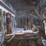 Delvaux 150x150 Tormento y éxtasis en el Thyssen y Fundación Caja Madrid con Lágrimas de Eros