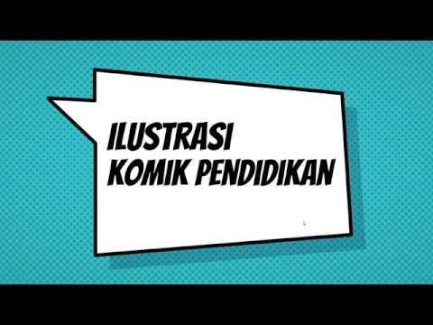 Gambar Ilustrasi Komik - Rahman Gambar