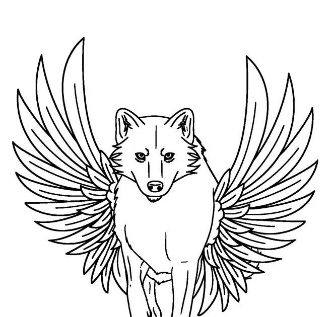 wolf ausmalbilder zum ausdrucken  wolf in der schnee