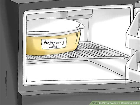 How to Freeze a Wedding Cake: 10 Steps (with Pictures