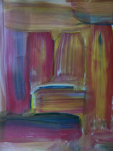 Sara's Fall Abstract