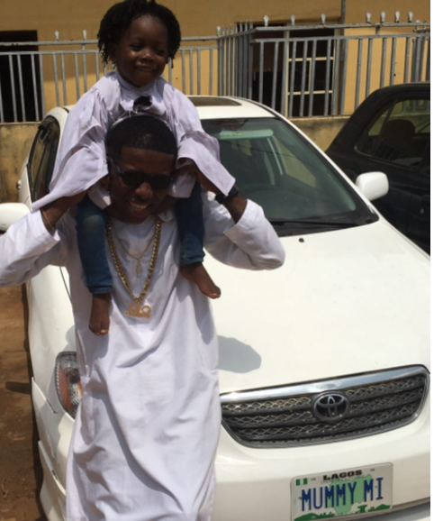 Small Doctor acquires new car for his mum