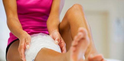 Aplicar Hielo Fisioterapia