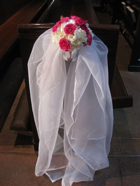 Church wedding decoration ideas on Pinterest   Pew