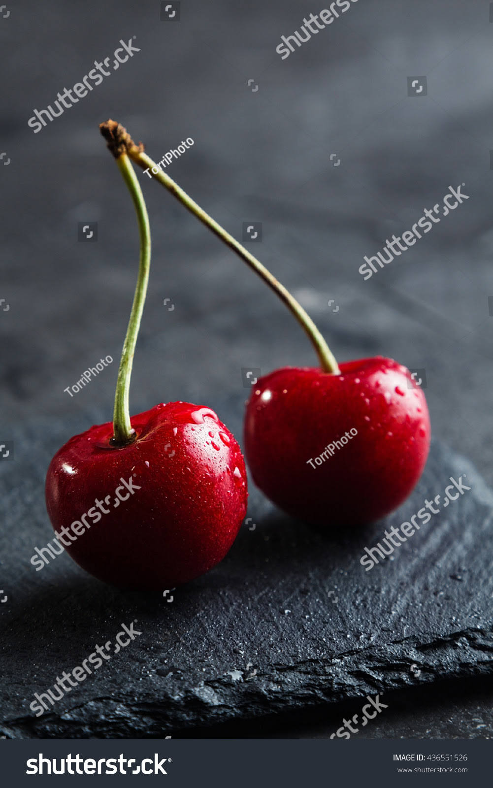 background, berry, black, cherry, closeup, concept, contrast, dark, delicious, dessert, diet, drop, focus, food, fresh, freshness, fruit, gourmet, group, healthy, juice, juicy, kitchen, lot, macro, many, meal, natural, nature, nutrition, organic, raw, red, ripe, shallow, stem, summer, sweet, two, useful, vegetarian, vitamin, water, wet