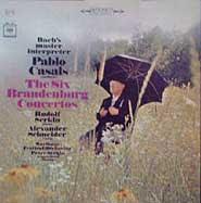Pablo Casals conducts the Marlboro Festival Orchestra (Columbia LP box cover)