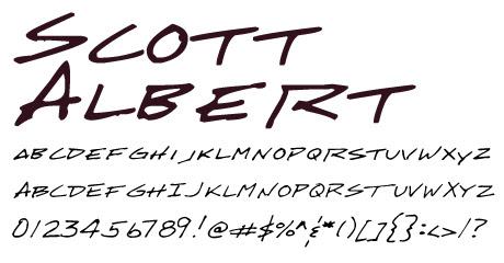 click to download Scott Albert