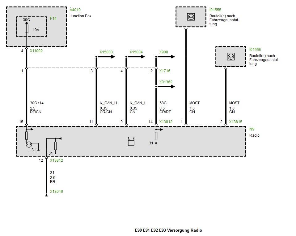 Bmw E46 Radio Schaltplan