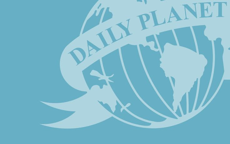 Superman Daily Planet Logo