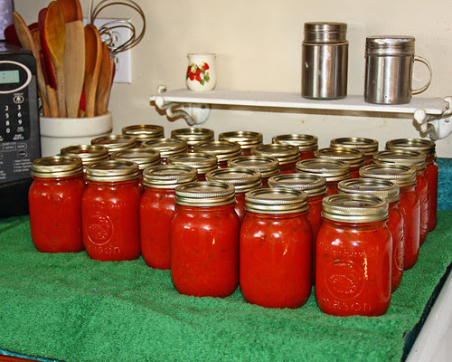 Fresh canned tomato soup