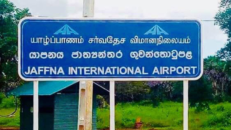 Direct flights from Chennai to Jaffna to commence from Nov 1