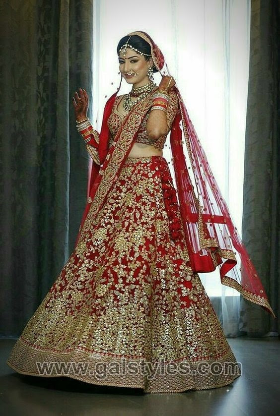 latest indian bridal dresses designs trends 201819