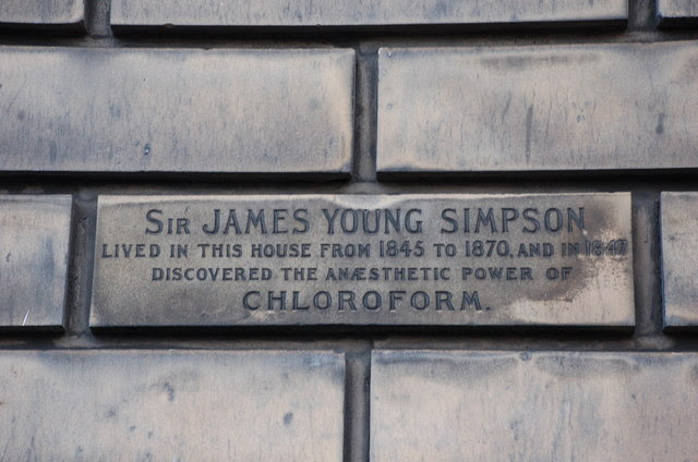 Inscription for Sir James Young Simpson