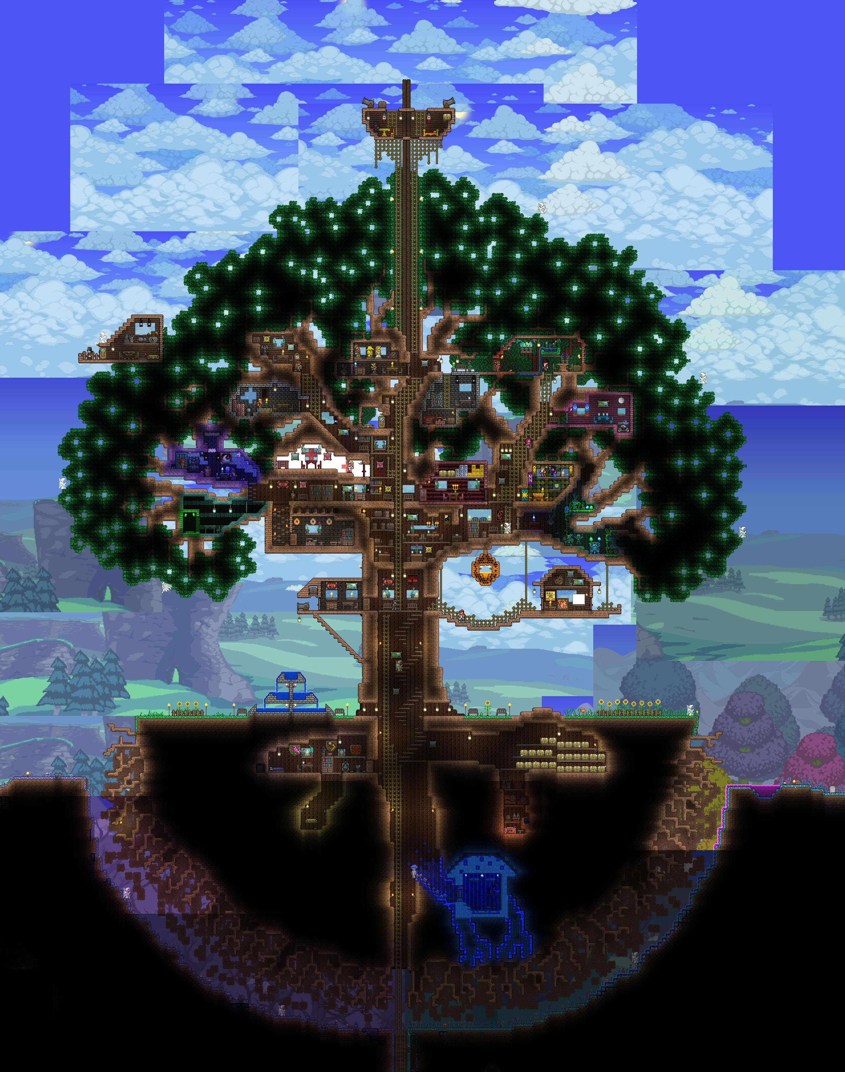 My Tree House, A Long Time in the Making : Terraria