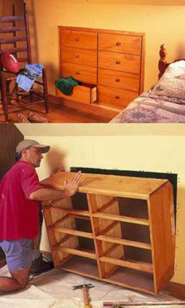 24 Insanely Clever Space Saving Interiors Will Amaze You ...