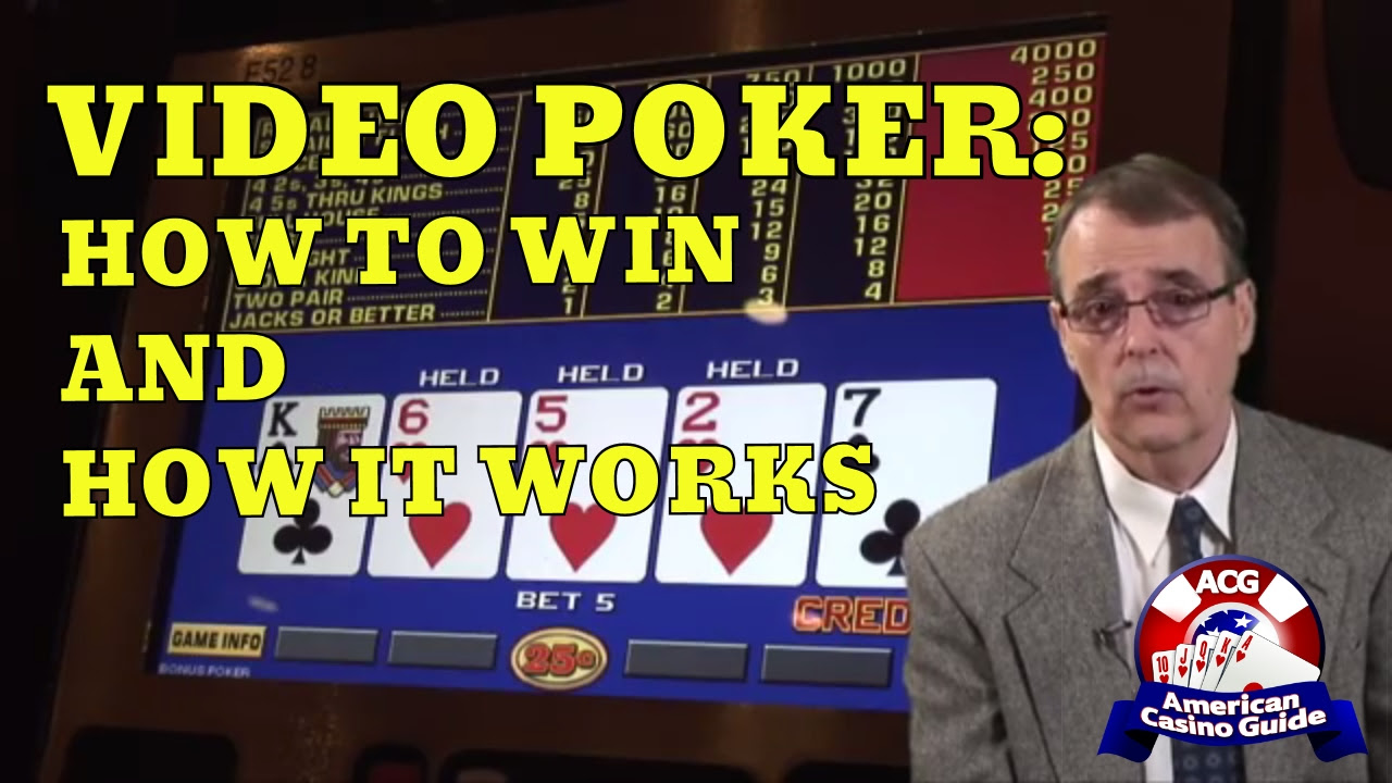 How to win at video poker reddit