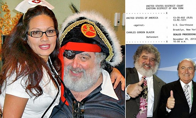 FIFA's Chuck Blazer admits he and other members accepted bribes for World Cups
