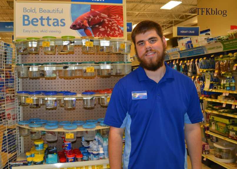 PetSmart employee Emery who helped me