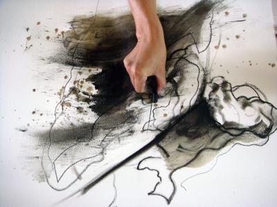 黃承遠認為作畫的關鍵不在於能否完成那條線,反而是「若我要五分的力量,就絕不能多一分,否則整個畫面的結構與故事就被改變,心境也不同了。」
