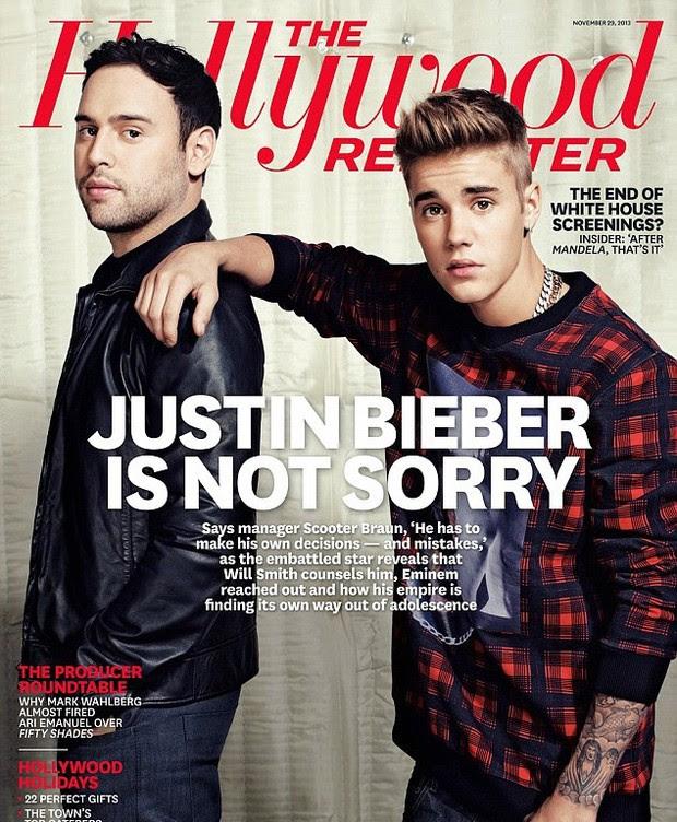 Justin Bieber (Foto: Revista/Reprodução)