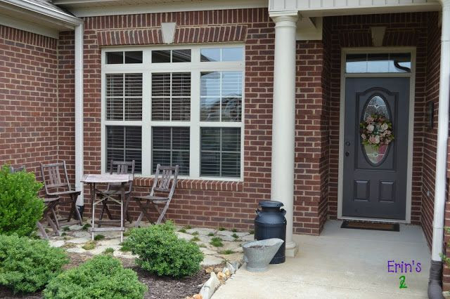 Erin's 2 Cents: New Front Patio