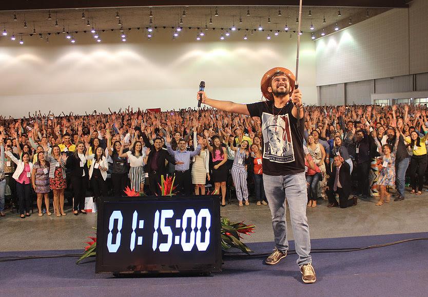 """Palestra será sobre o """"Poder do Não"""", contando a história do palestrante no interior do Ceará (FOTO: Reprodução)"""