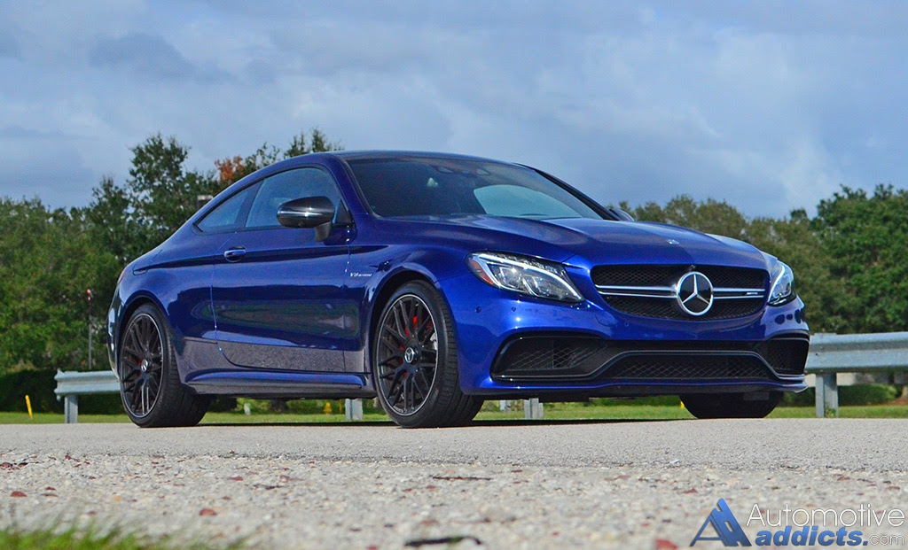 2017 Mercedes-AMG C63 S Coupe Review & Test Drive